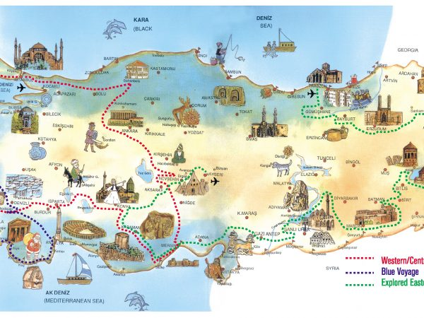 Simplify Your Trip to the Continent - Use a Travel Map Europe